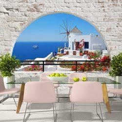 Fotótapéta - Summer in Santorini