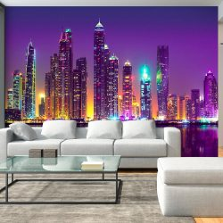 Fotótapéta - Purple Nights (Dubai)