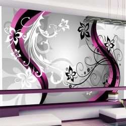 Fotótapéta - Art-flowers (pink) ll