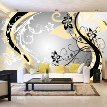Fotótapéta - Art-flowers (yellow) ll
