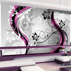 XXL Fotótapéta - Art-flowers (pink)    500x280 cm