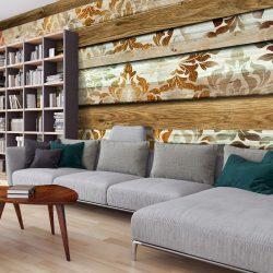 XXL Fotótapéta - Wooden Elegance    500x280 cm