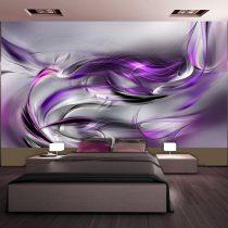 XXL Fotótapéta - Purple Swirls II    500x280 cm