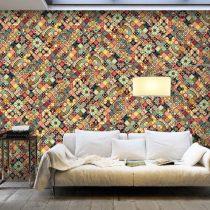 XXL Fotótapéta - Rainbow Mosaic    500x280 cm