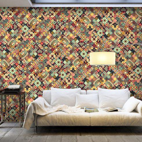 XXL Fotótapéta - Rainbow Mosaic    500x280 cm  -  ajandekpont.hu