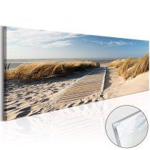 Akrilüveg kép - Wild Beach [Glass]
