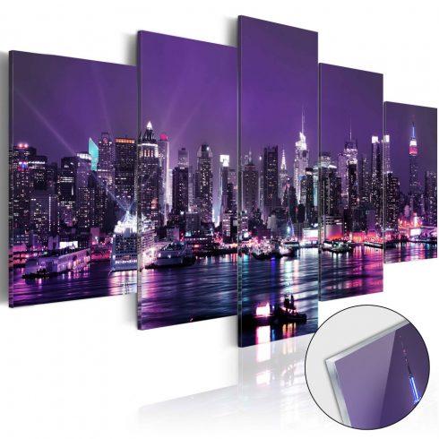 Akrilüveg-kép-Purple-Sky-Glass - ajandekpont.hu