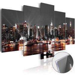 Akrilüveg kép - Gray City [Glass]