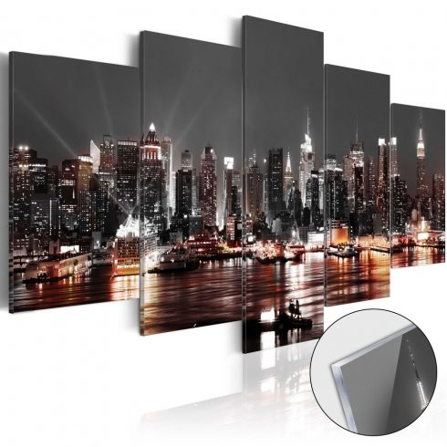 Akrilüveg kép - Gray City [Glass]  -  ajandekpont.hu