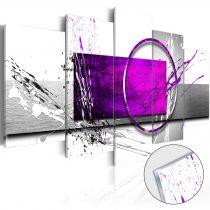 Akrilüveg kép - Purple Expression [Glass]