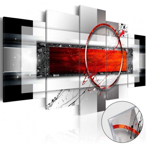 Akrilüveg-kép-Carmine-Missile-Glass - ajandekpont.hu