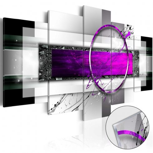 Akrilüveg-kép-Violet-Rim-Glass - ajandekpont.hu
