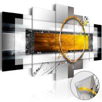 Akrilüveg kép - Golden Shot [Glass]