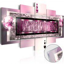 Akrilüveg kép - Cyclamen Dream [Glass]