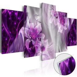 Akrilüveg kép - Purple Utopia [Glass]