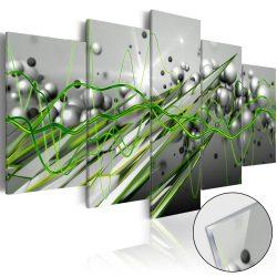 Akrilüveg kép - Green Rhythm [Glass]