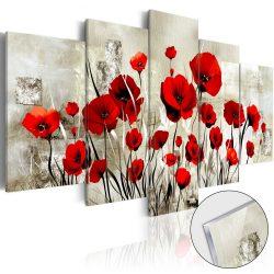 Akrilüveg kép - Scarlet Field [Glass]