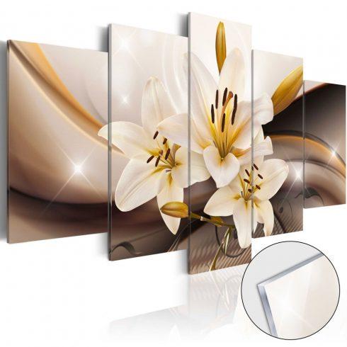 Akrilüveg-kép-Shiny-Lily-Glass - ajandekpont.hu