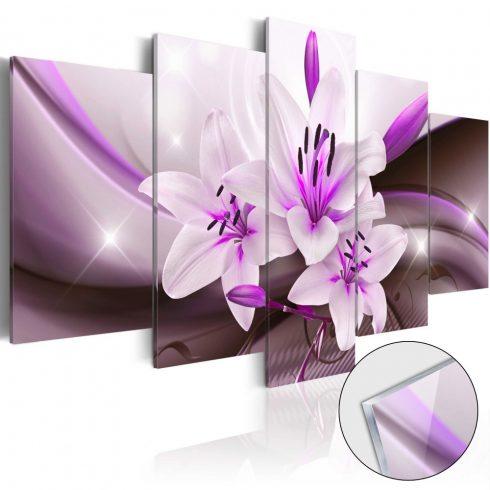 Akrilüveg kép - Violet Desert Lily [Glass]  -  ajandekpont.hu
