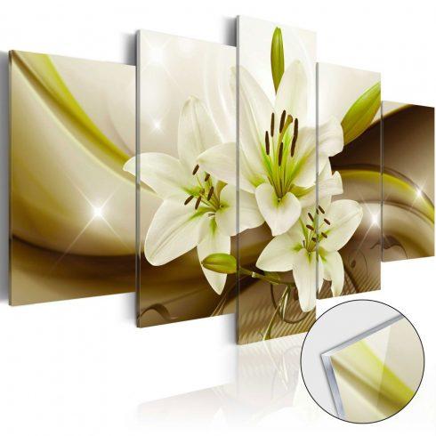Akrilüveg-kép-Modern-Lily-Glass - ajandekpont.hu