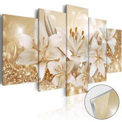 Akrilüveg kép - Golden Bouquet [Glass]