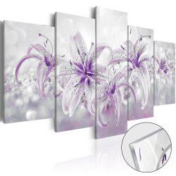 Akrilüveg kép - Purple Graces [Glass]