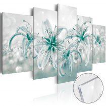 Akrilüveg kép - Sapphire Lilies [Glass]