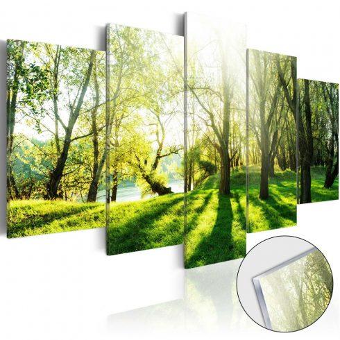 Akrilüveg-kép-Green-Glade-Glass - ajandekpont.hu