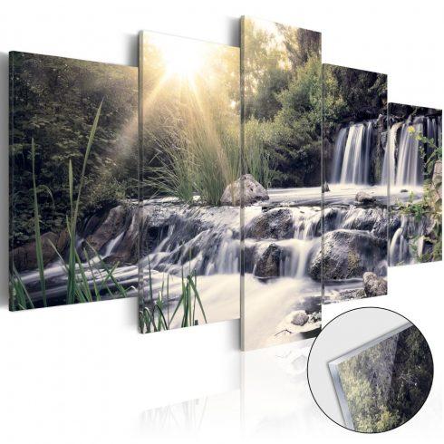 Akrilüveg kép - Waterfall of Dreams [Glass]  -  ajandekpont.hu