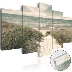 Akrilüveg kép - Quiet Beach [Glass]