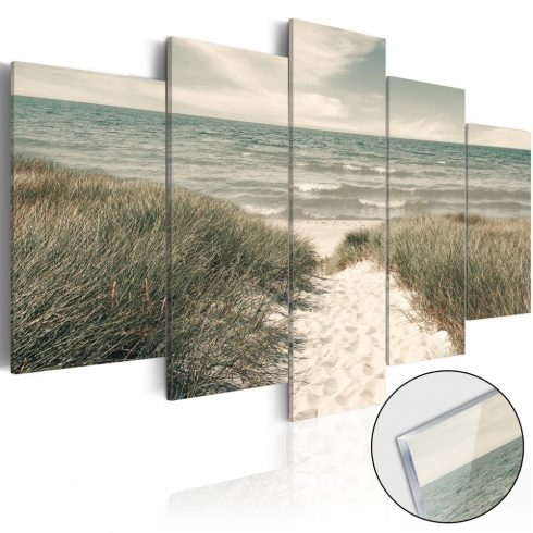 Akrilüveg-kép-Quiet-Beach-Glass - ajandekpont.hu