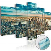 Akrilüveg kép - NY: Dream City [Glass]