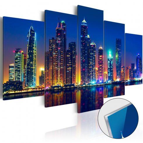Akrilüveg-kép-Nights-in-Dubai-Glass - ajandekpont.hu