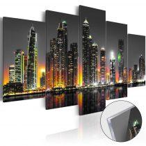 Akrilüveg kép - Desertic City [Glass]