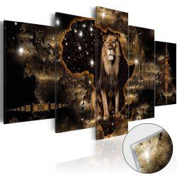 Akrilüveg kép - Golden Lion [Glass]