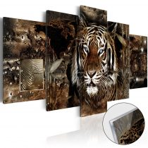 Akrilüveg kép - Guard of the Jungle [Glass]