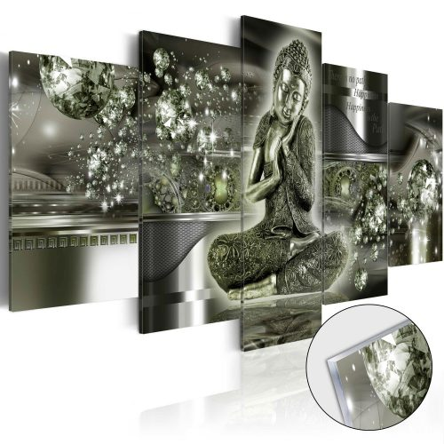 Akrilüveg kép - Emerald Buddha [Glass]