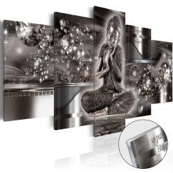 Akrilüveg kép - Silver Serenity [Glass]