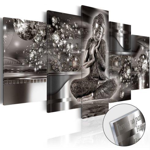 Akrilüveg-kép-Silver-Serenity-Glass - ajandekpont.hu