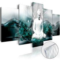 Akrilüveg kép - Azure Meditation [Glass]