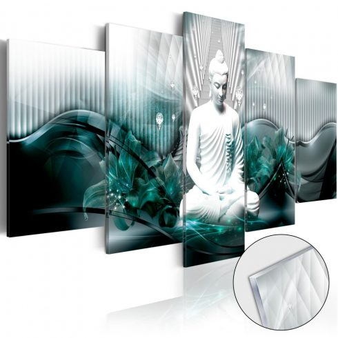 Akrilüveg-kép-Azure-Meditation-Glass - ajandekpont.hu
