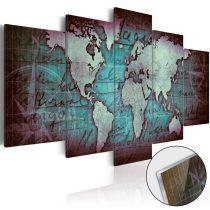 Akrilüveg kép - Acrylic prints – Bronze map II