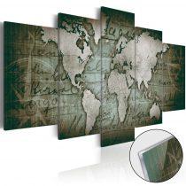 Akrilüveg kép - Acrylic prints – Bronze map III