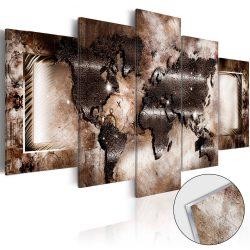 Akrilüveg kép - Platinum Map [Glass]