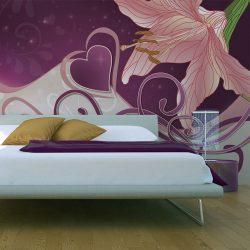 Fotótapéta - Lily in violets