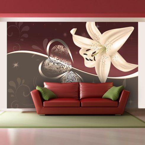 Fotótapéta - Cream lily ll  -  ajandekpont.hu