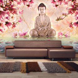 Fotótapéta - Buddha and magnolia ll