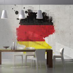 Fotótapéta - A nemzeti színek Németország ll
