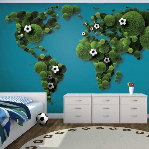 Fotótapéta - A World of football ll  -  ajandekpont.hu