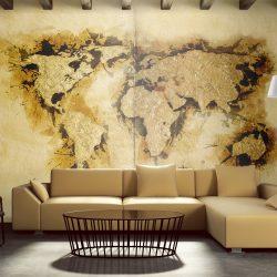 """Fotótapéta - Aranyásó """"világtérkép ll"""